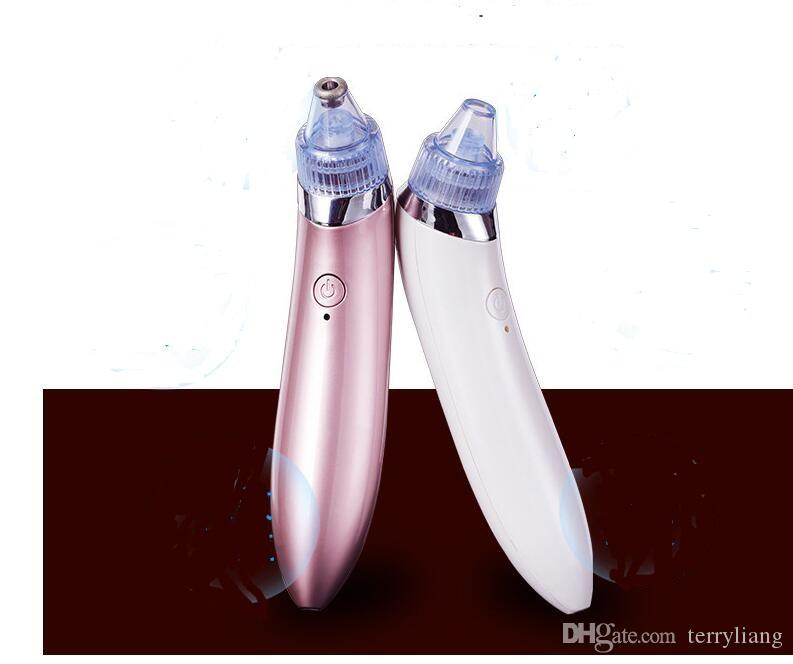 Electric Facial Pore Cleaner Nose Blackhead face Cleansing pustule Acne Remover Vacuum Comedo Suction whitehead Tool Skin Care
