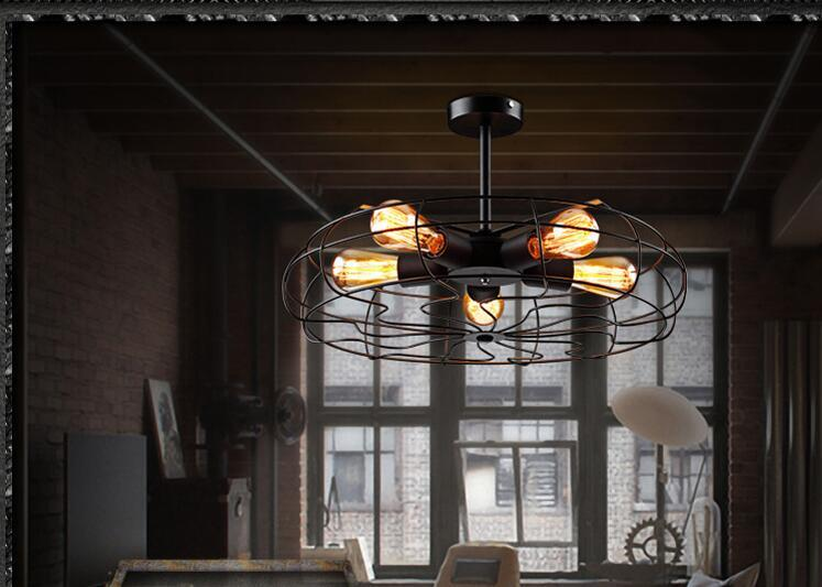 Style loft edison retro industrial ceiling light fixtures simple specifications mozeypictures Gallery