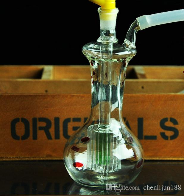 Küçük vazo Nargile, pot aksesuarları göndermek, cam bong, cam nargile, sigara, renk modelleri sevk