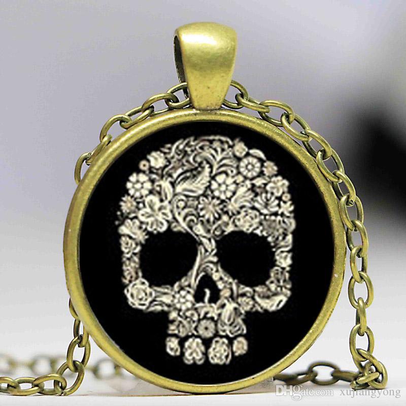 dark skull cufflinks,gold sugar skull cufflinks, Custom cufflink ,Father of the grooms cuff links