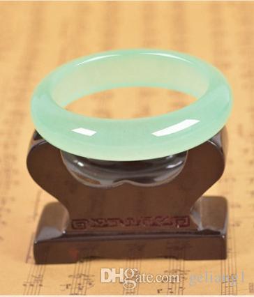 Светло-зеленый нефритовый браслет (ручная скульптура) красивый женский любимый