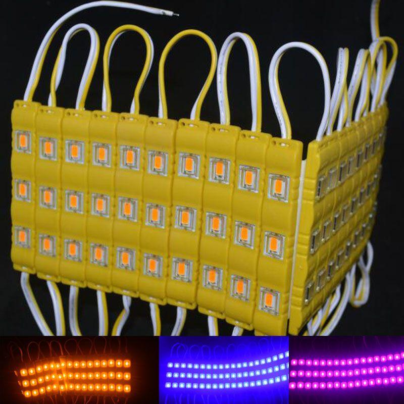 işareti mektupları LED modülü ışık lamba SMD 5730 su geçirmez modüller geri LED ışık SMD5730 3 1.2W 150lm DC12V açtı