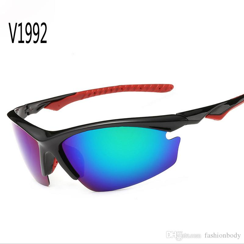 Sonnenbrille Sportglas Goggles Fit Frauen Direkte Polarisierte amerikanische Sonnenbrille Biker Outdoor Fahrradlinse Mens China Band Stil für Linse JVLJ
