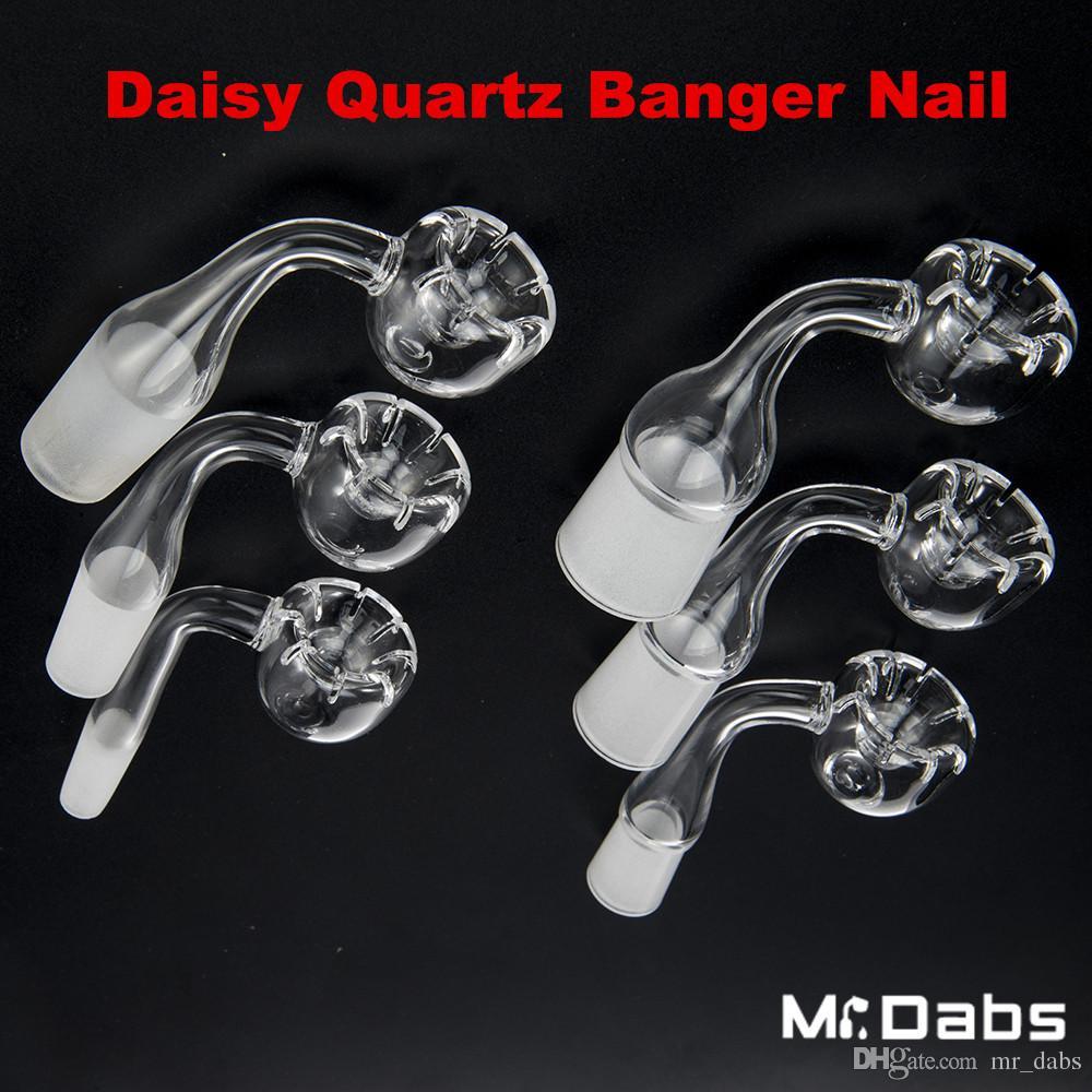 Neue Art Daisy Stil Quarz Club Banger Nagel 10mm 14,4mm 18,8mm männlich weiblich Tupfen Ölplattformen bei Herrn Klieschen