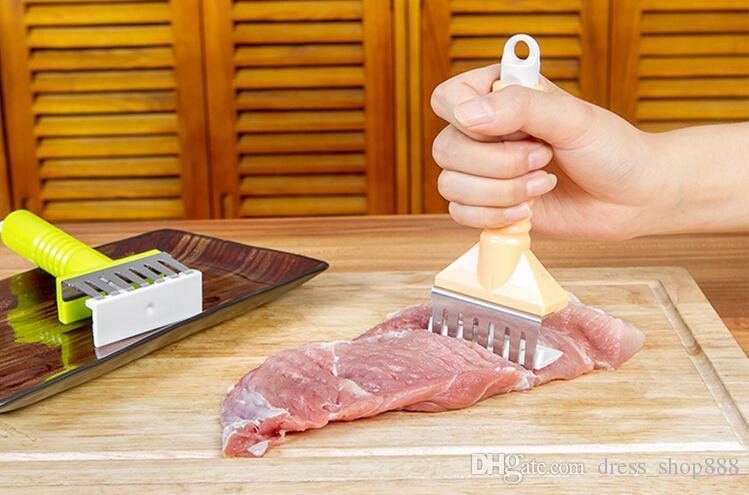 Varkensvlees raassteen steak snelle ontlading naald naalden vlees keukengereedschap mes losse vlees is hamstring