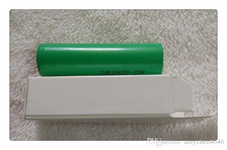 Epacket ICR18650 26FM Battery High Drain 2600mAh 3.7V fit Sigelei Mini V2 50W 100W 150W Plus Box Mods For Samsung Electonic Ciga