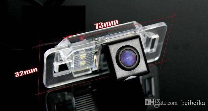 Автомобильная камера заднего вида для BMW X5 Reverse Camera / HD CCD RCA NTST PAL / фонарь освещения номерного знака OEM