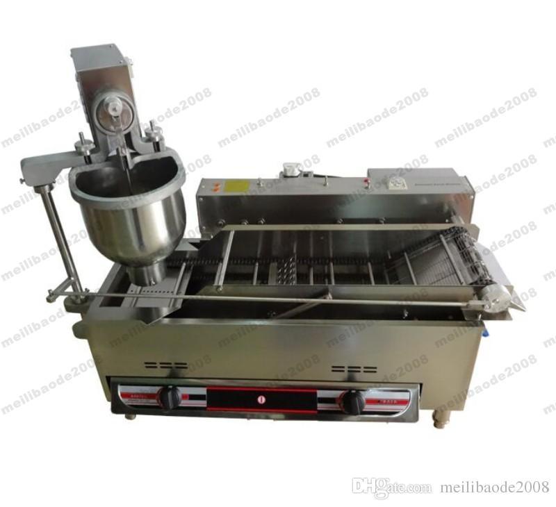 NUEVO Mejor sabor Full Gas automático Mini Donut Maker 110 / 220V calidad 3 moldes Donut que hace la máquina 1200 PCS / H con prueba CE MYY
