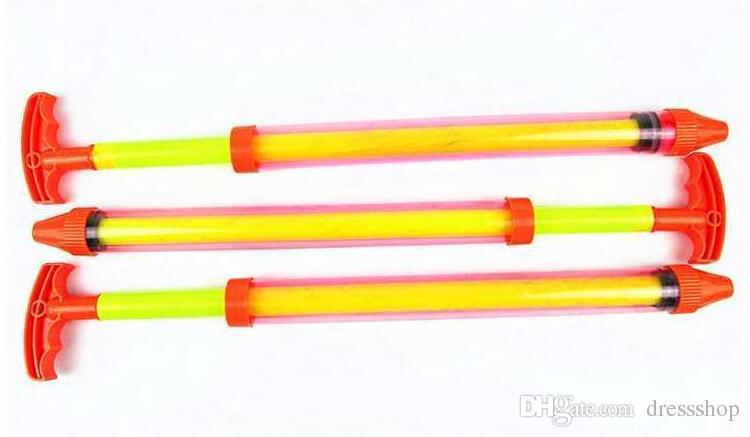 Great swimming toy gun drifting pen barrel pull-out water fight water gun children beach toys free shipping