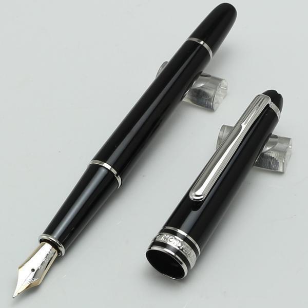 عالية الجودة جديد فاخر أسود الراتنج نافورة القلم / قلم المدرسة مكتب القرطاسية الساخن بيع ماركة الأقلام هدية القلم # 163