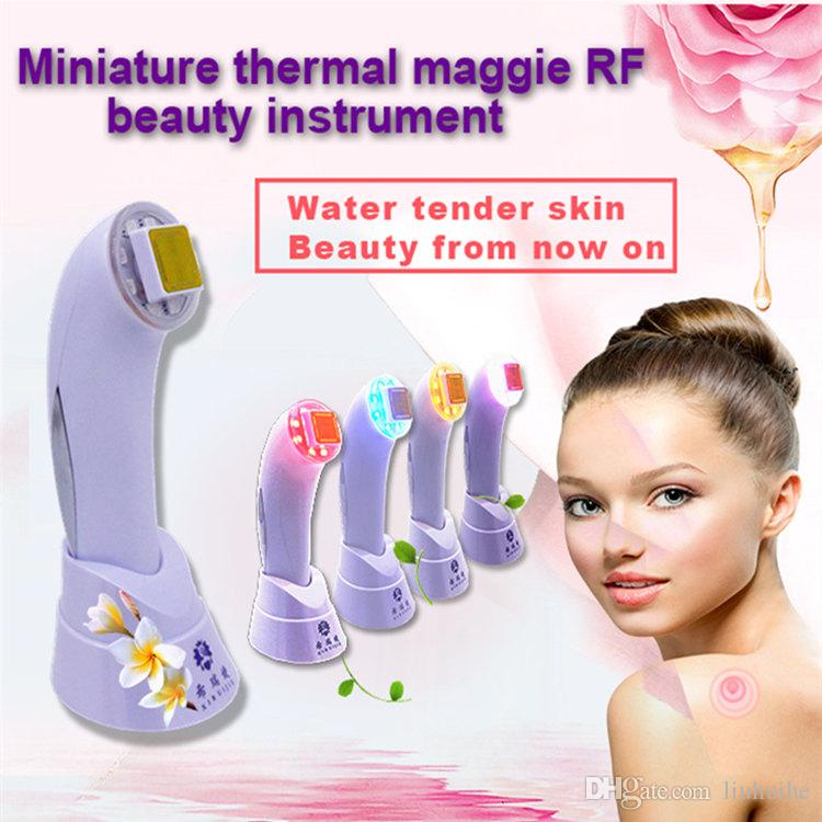 RF Skin Rejuvenation SkinTighten Wrinkle Removal Anti-aging Dot Matrix Skin Care RF Thermage Fractional RF Thermager Portable Beauty Device