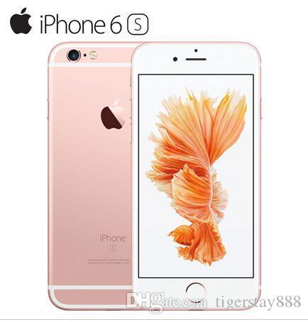 원래 4.7 ''애플 아이폰 6S 아이폰 6s 플러스 지원 지문 Lios 9 듀얼 코어 2 기가 바이트 램 16GB 64GB 128GB ROM 12MP 카메라 리퍼브 전화