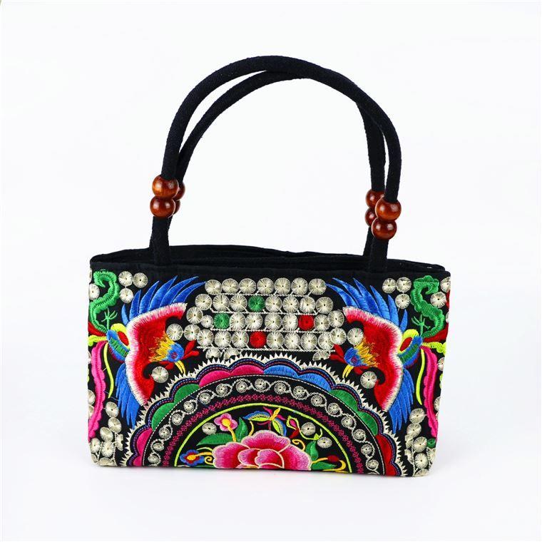 Ricamo di nazionalità cinese, borsa da ragazza, souvenir turistico, regalo di artigianato nazionale caratteristico, regalo d'oltremare