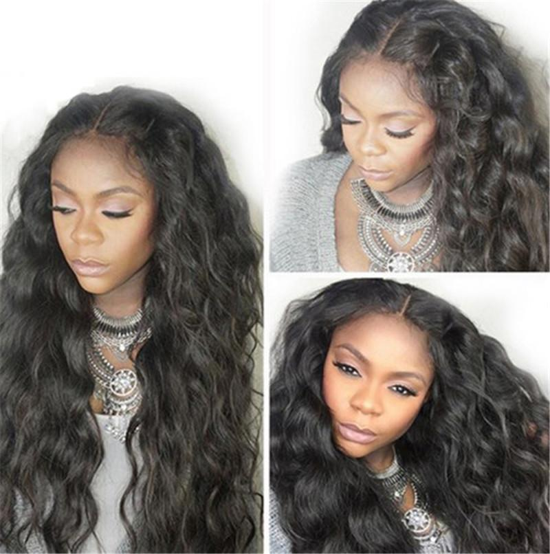 Body Wave Wig Lace Front Human Hair Wigs Brazilian Non Remy Hair Full Lace Wigs Pre Plucked With Baby Hair FDSHINE