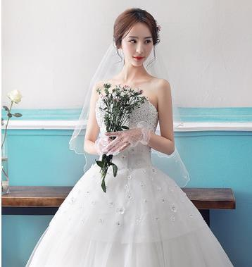 The Spring And Summer Of 2017 Princess Wedding Bride Wedding Bra ...