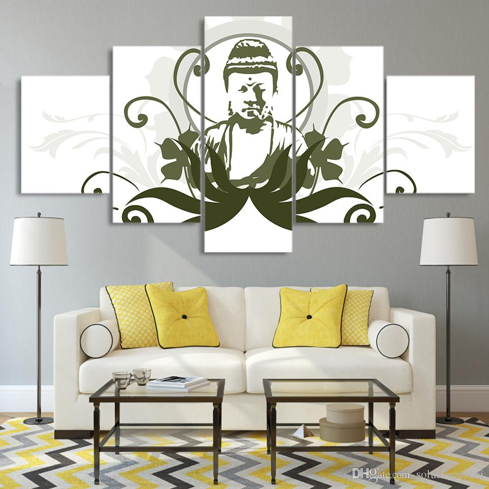 2020 Canvas Pictures Hd Prints Wall Art Buddha Comic Drawing Paintings For Living Room Home Decor Modular Pictures From Solutionwinni 33 68 Dhgate Com