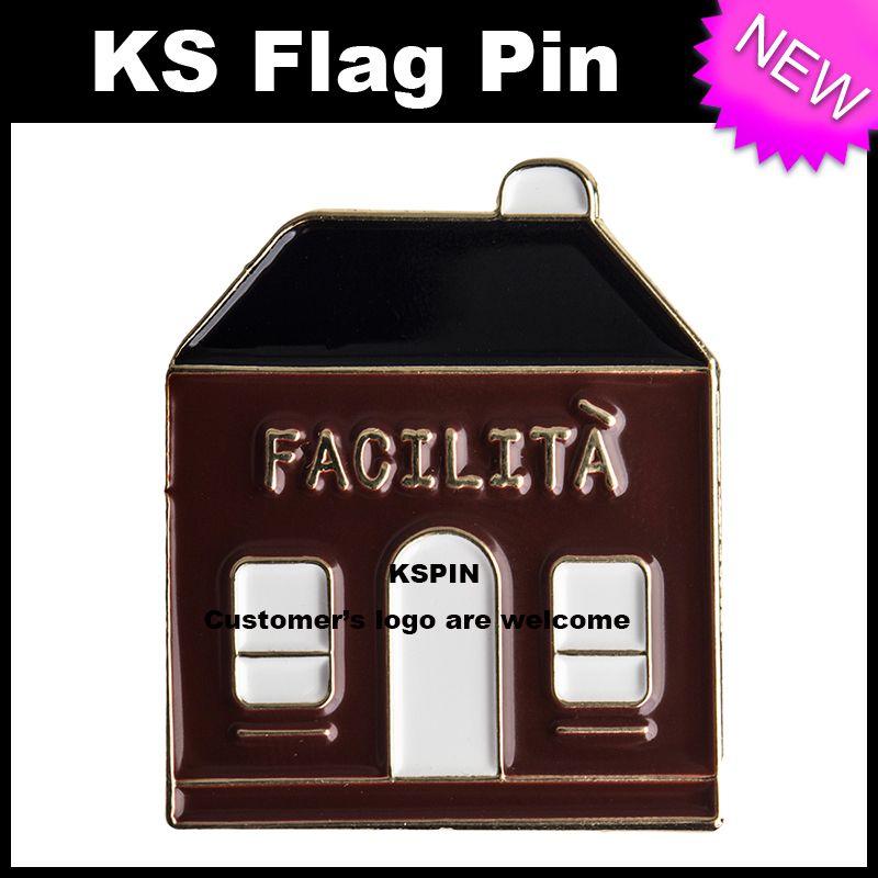 Hourse Metal Badge Pin 10pcs molto Spedizione gratuita XY0034