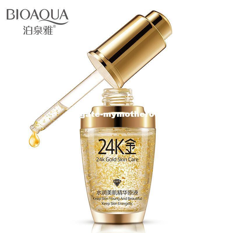 BIOAQUA 24K كريم مرطب للوجه بالذهب والكريمات المرطبة للعناية اليومية
