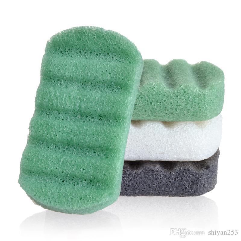 Face Wash Sponge Natural Facial Cleanse Washing Konjac Sponge