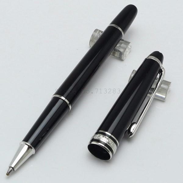 أقلام حبر القلم الرول / قلم حبر جاف رفيعة المستوى على العلامة التجارية للمكتب المدرسي المطلي بالروديوم من روديوم