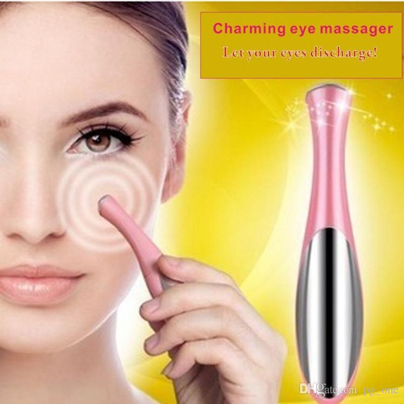 Portable Electric Thermal Eye Massager Eye Care Beauty Instrument Device Remove Wrinkles Dark Circles Puffiness Massage Relaxation