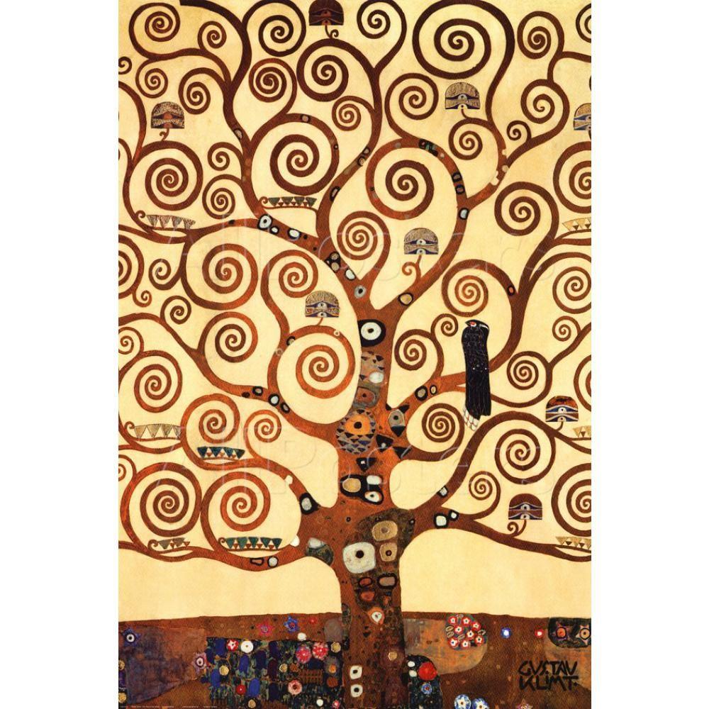 Klimt L Arbre De Vie Tableau acheter art de paysages larbre de la vie stoclet frise de gustav klimt  peinture À lhuile moderne haute qualité peint À la main de 72,38 € du reeme  |