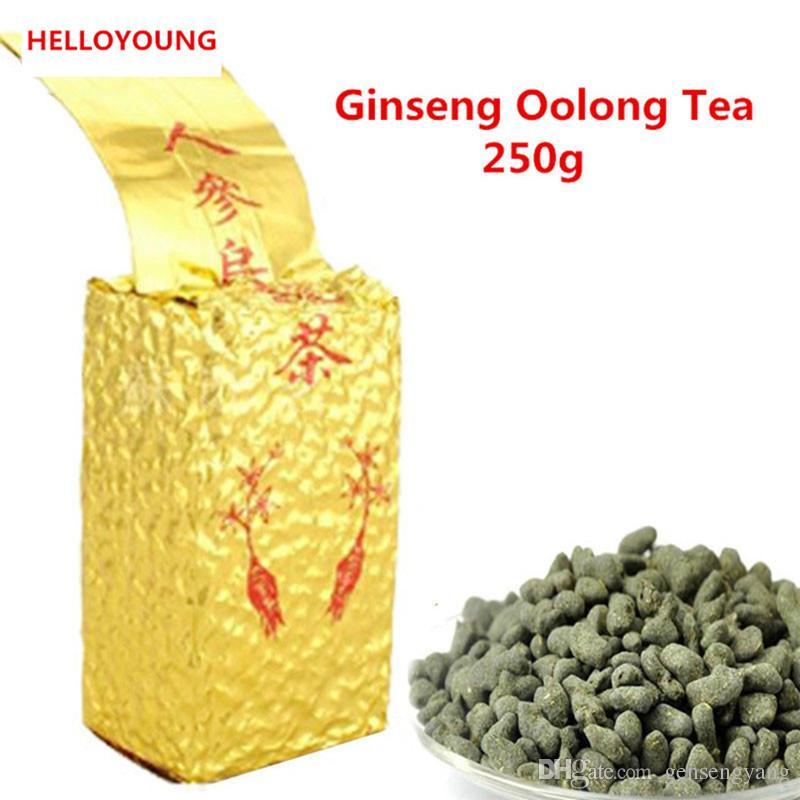 250г Женьшень Улун новый High Экономичное Fresh Natural Beauty Чай китайский высокого качества Улун Preferred