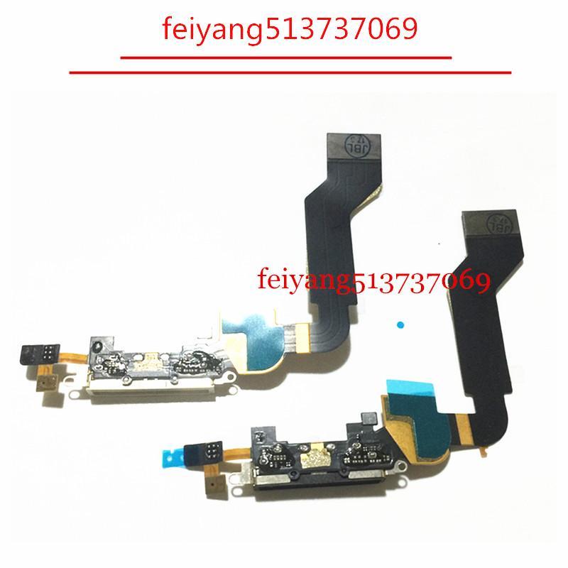 10pcs Orijinal Dock Bağlantı Şarj iPhone 4s Cep Telefonu Şarj Flex Port Flex Kablo Değiştirme