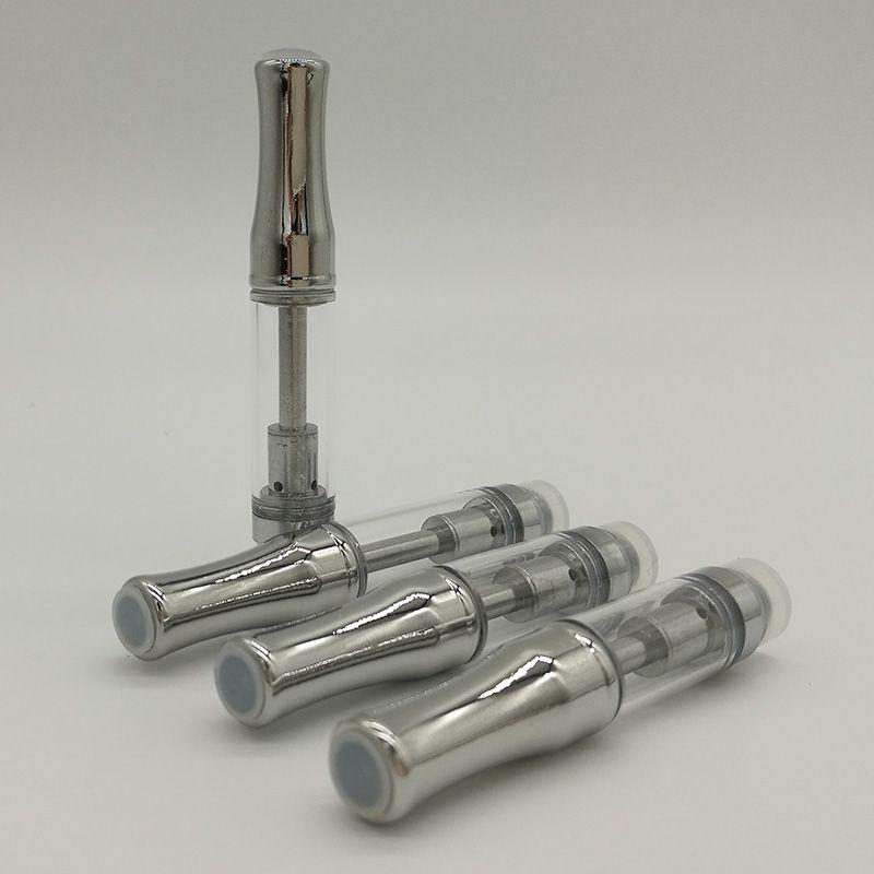 Ceramic coil Pyrex glass Cartridges Bud Touch CE3 Tank Vaporizer 510 O pen atomizer Vapor WAX thick Oil e cigs Vape