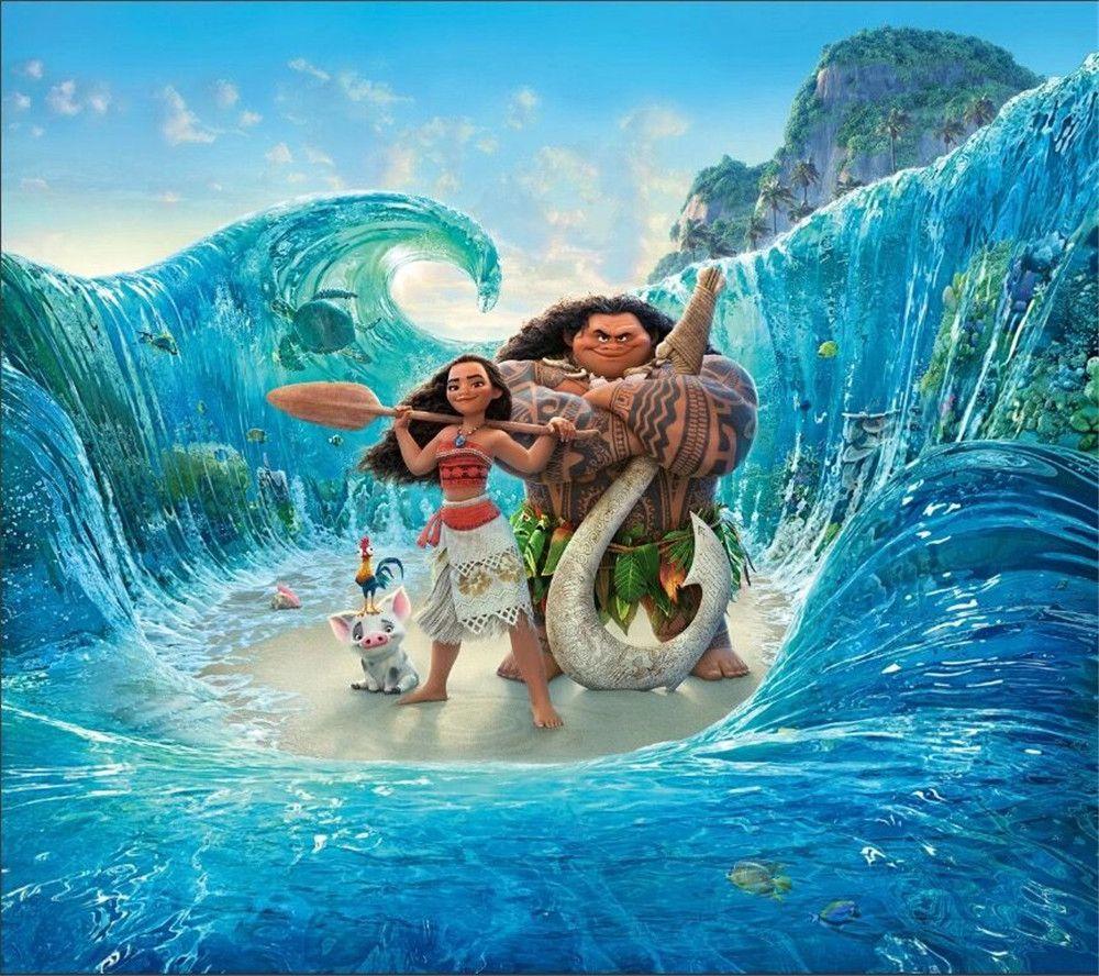 사진 스튜디오 배경 푸른 바다 파도 야자 나무 섬 해변 아름다운 사진 배경 생일 파티 이벤트 배너
