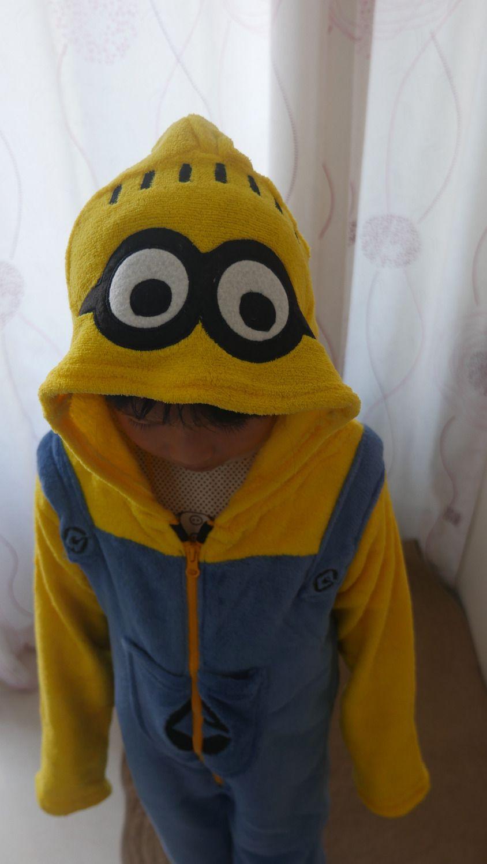 2019 mejor garantía de alta calidad precio limitado Compre Niños Despicable Me Minions Onesie Pijamas De Dibujos Animados Para  Navidad Cosplay Disfraz Fiesta Mono Pijama Infantil Menino A $16.55 Del ...