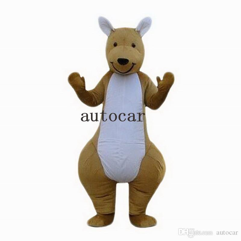 kangaroo mascot costumes for adults circus christmas Halloween Outfit Fancy Dress Suit Free Shipping real picture