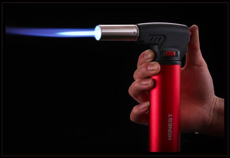 새로운 도착 정직한 501 제트 조절 가능한 불꽃 용접 건 부탄 가스 재충전 용 토치 라이터