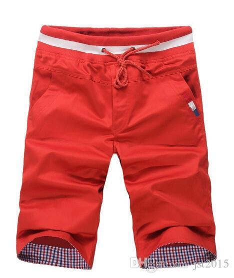 Al por mayor-Plus de gran tamaño 4 5 6XL Nuevo Hombre Marca de verano de carga de playa de los hombres Pantalones cortos de hombre traje de baño de alta calidad de los hombres pantalones T8881