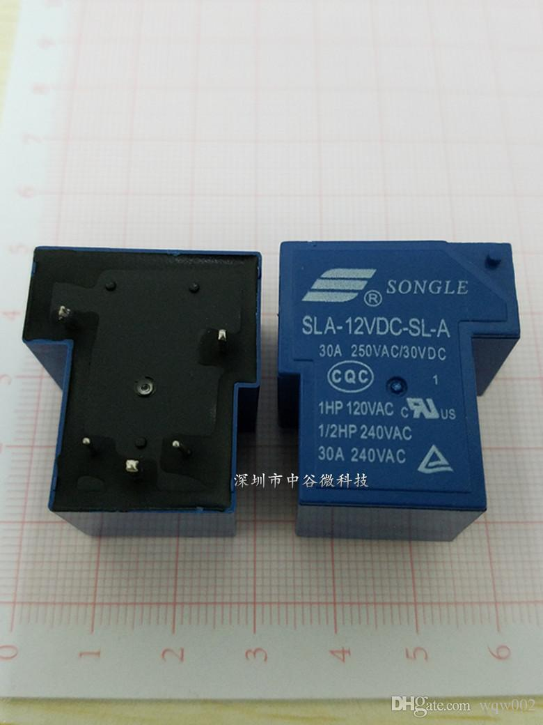New Pine Le Songle Power Relay Sla Vdc Sl A T  Pin - Electrical relay normally open