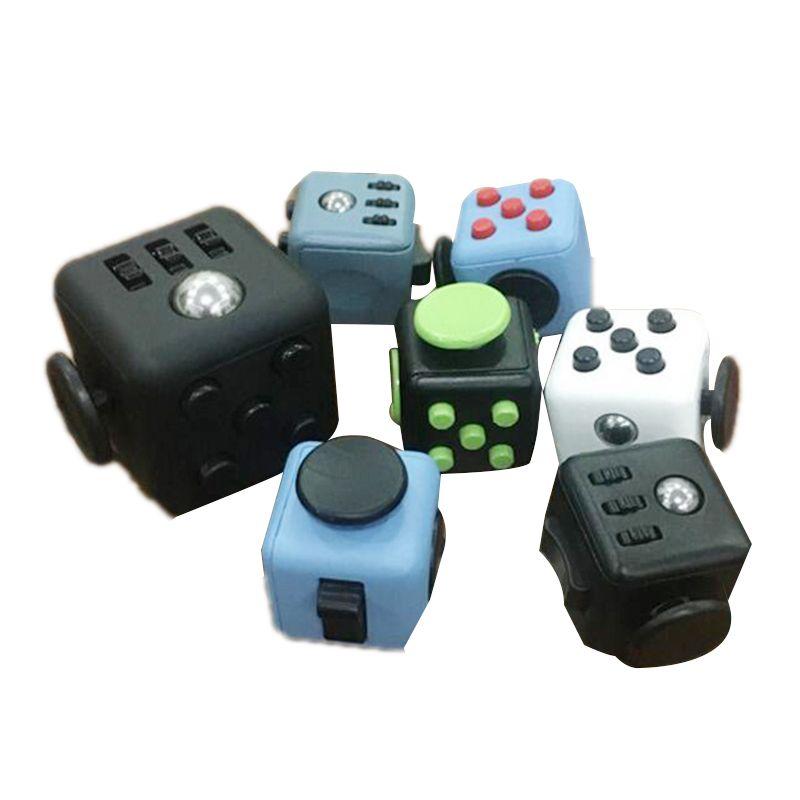 UK Fidget Cube  Toy Children Desk Adults Stress Pressure Relief Cubes #5