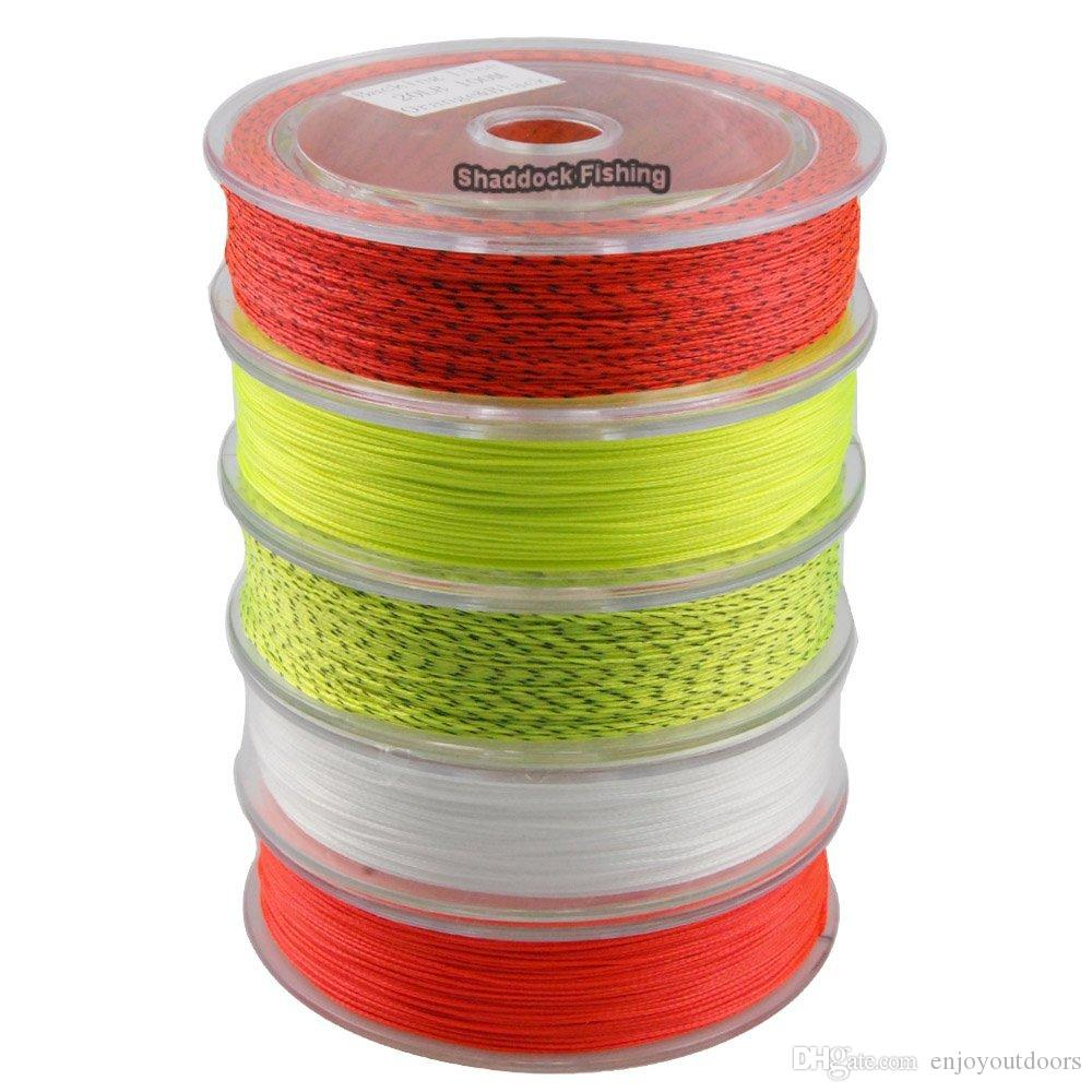 2 Packs 20LB 100 Yards Fly Fishing Backing Line Abrasion Resistant Braided Wire Backing Lines Backing Fly Fishing Equipment Tackle Tool