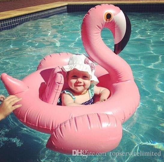 Лебедь Надувные Float плавать кольцо Детские Летние игрушки лебедя бассейн СЕДЛО воды игрушки Пляж игрушки 2 цвета (белый и розовый)