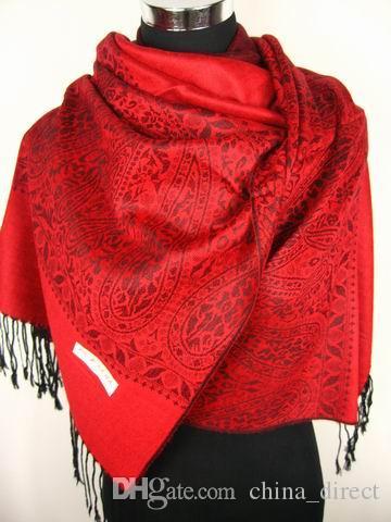 sciarpe dello scialle della sciarpa delle donne di modo wrap ponchos 12pc / lot # 1765 nuovo