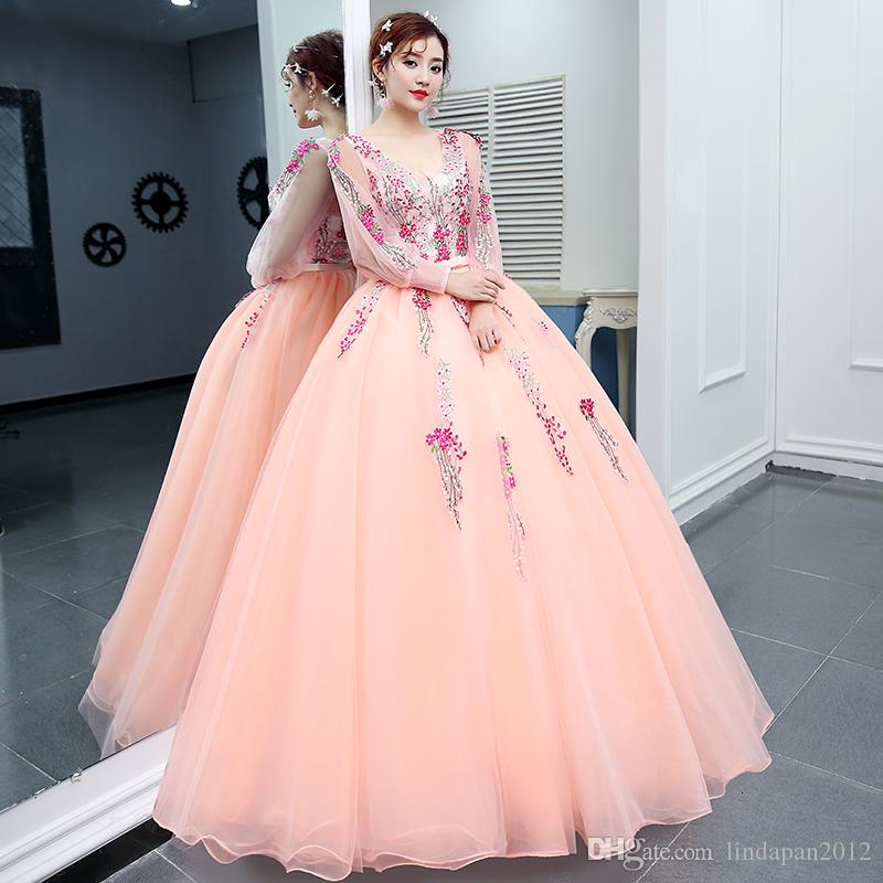 Velnosa Pink Princess Organza New Summer Girls Wedding Dress 2017 ...