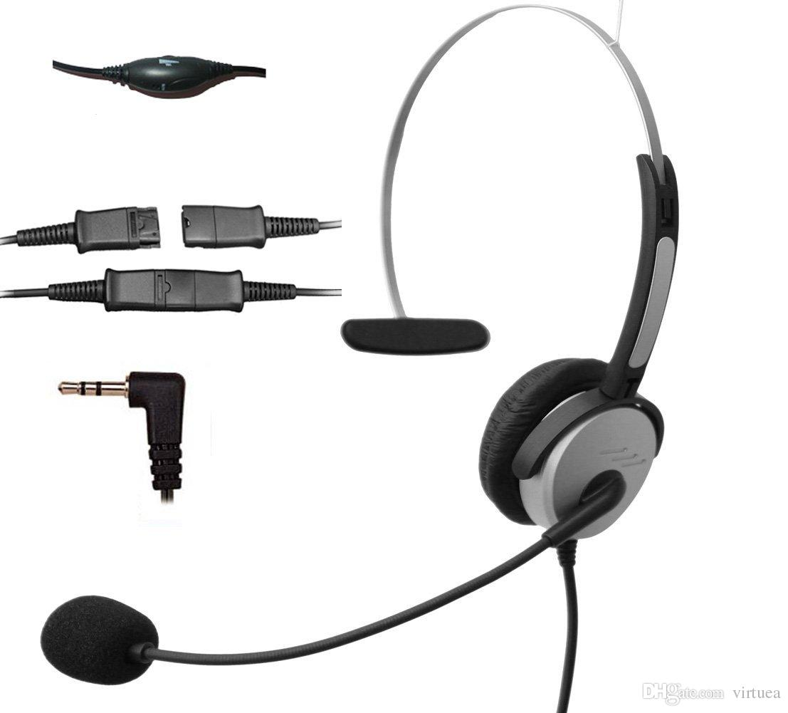Call Center Telephone Headset Noise Cancelling Headphone With Flexible Microphone For Cisco Linksys Polycom Panasonic Dect Cordless And Cel Headphones With Microphone Noise Cancelling From Virtuea 25 13 Dhgate Com