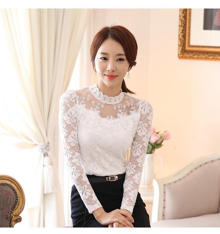 lace blouse 519