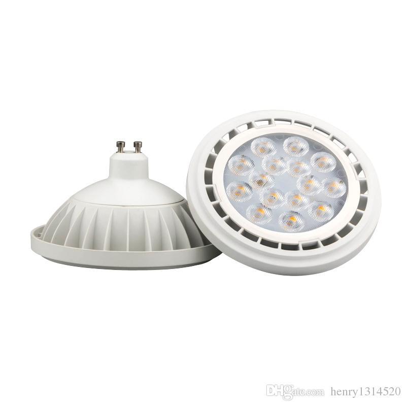 Spedizione gratuita nuovo arrivo AR111 GU10 LED lampada 12 W ingresso riflettore pannocchia bianco caldo / bianco freddo / lampadine dimmerabili bianco naturale