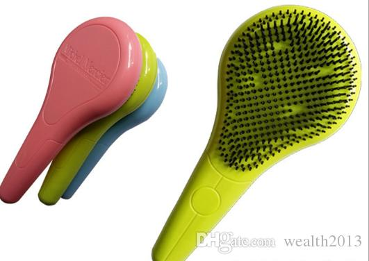 New item Detangling Hair Brush For Normal Hair Hair Brushes 3 Assorted Colors DHL express free shipping