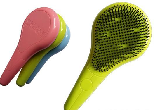 Forniture per toilette da bagno Spazzola per capelli Detrying per pennelli a testa normale 3 colori assortiti Express