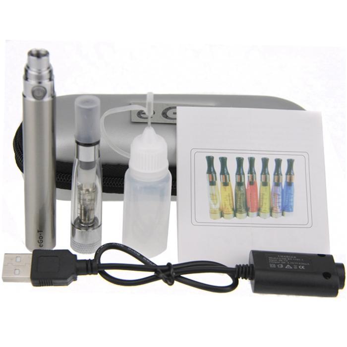 eGo-T CE4+ Plus Colorful Zipper ego case electronic cigarette starter kit CE4 plus rebuildable atomizer ego single kit