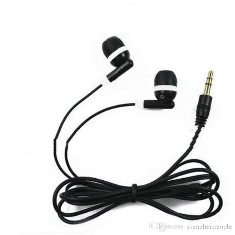 1000pcs/lot New In-ear Headphone 3.5mm Earbud Earphone For MP3 Mp4 Cell phone Free DHL/Fedex