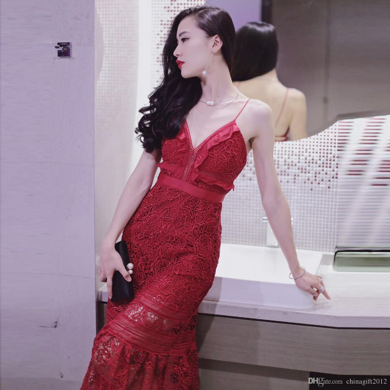 Lace Slip Dresses