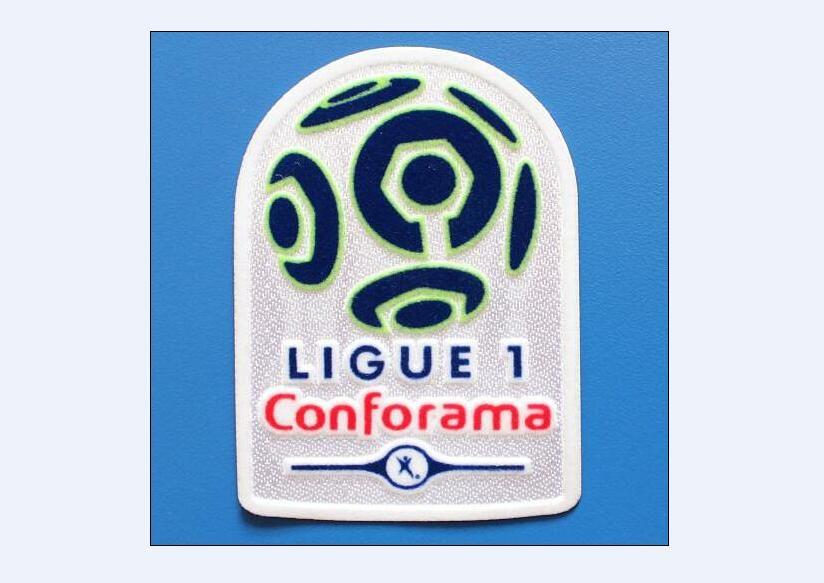 2017/2018 Fransız League Ligue 1 Futbol Yama Futbol Rozeti Ücretsiz Kargo!