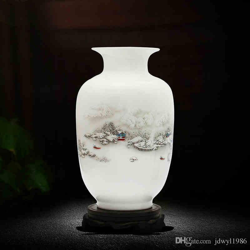 ビンテージセラミック花瓶自宅の装飾古代の美しさの磁器花瓶の花の装飾装飾品
